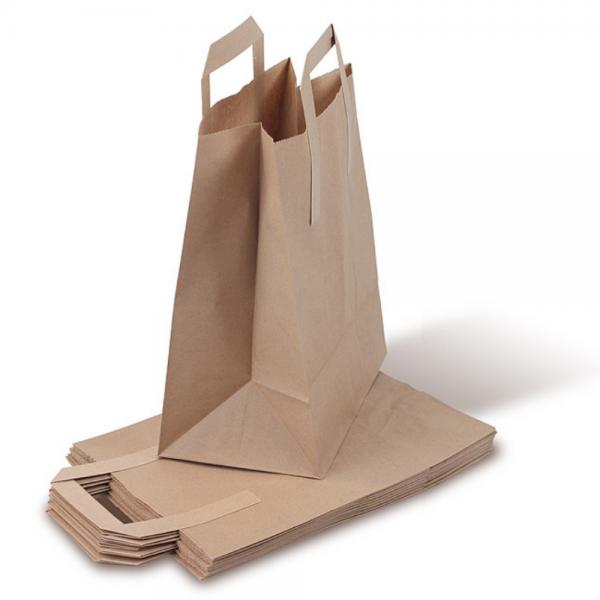 Bio-Müllbeutel (Biotüten) mit Standboden und Henkel (10l) 2 x 10 Stück