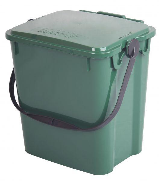 Komposteimer (Bio Mülleimer) für Biomüll in der Küche (10 l) grün
