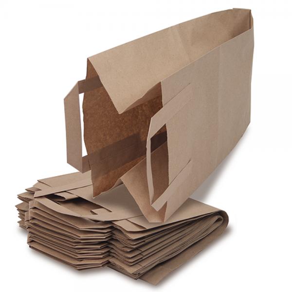 Bio-Müllbeutel (Biotüten) mit Rollboden und Henkel (10l) 2 x 10 Stück