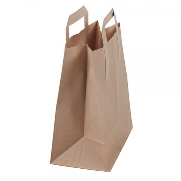 Bio-Müllbeutel (Biotüten) mit Standboden und Henkel (10l) 1 x 50 Stück
