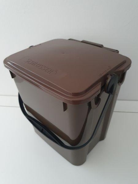 Bio-Mülleimer (10 l) braun - Restbestand wegen Farbabweichung
