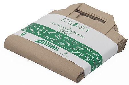Bio-Müllbeutel (10 l) mit Henkel, 10er-Pack