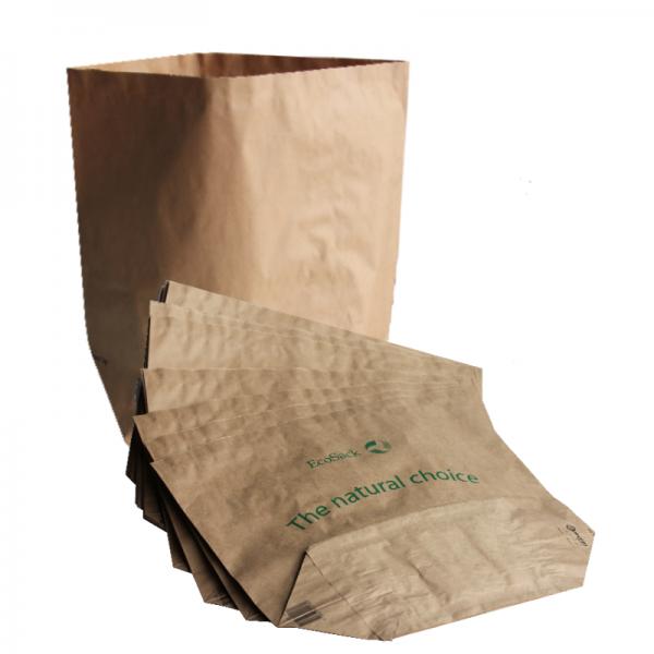 Bio-Müllbeutel (Biotüten) mit Standboden (25l) 2 x 5 Stück