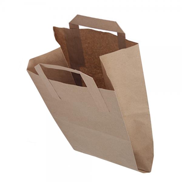 Bio-Müllbeutel (Biotüten) mit Rollboden und Henkel (10l) 1 x 50 Stück